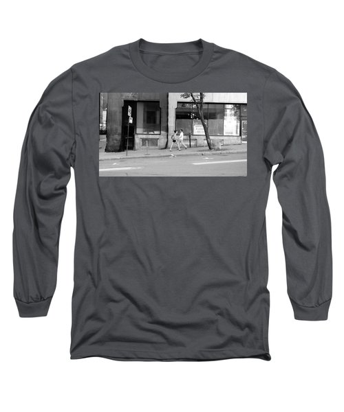 Long Sleeve T-Shirt featuring the photograph Urban Encounter by Valentino Visentini