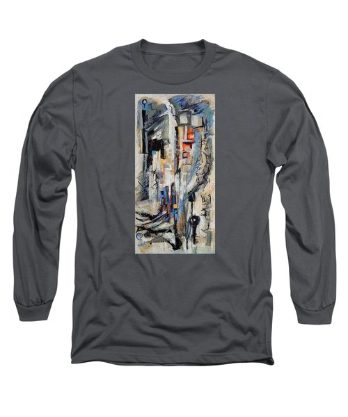 Urban Street 2 Long Sleeve T-Shirt by Mary Schiros