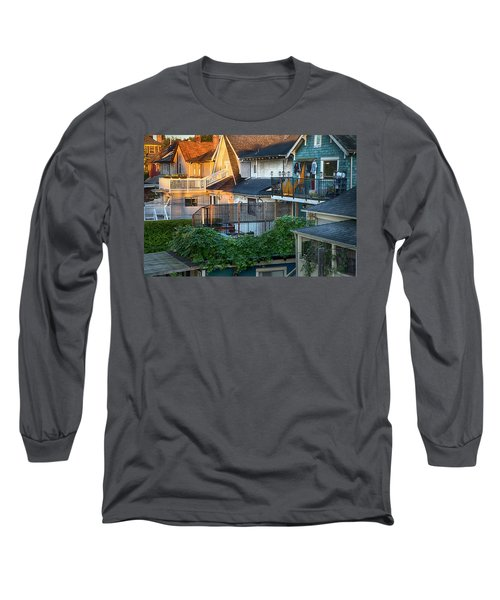 Long Sleeve T-Shirt featuring the photograph Urban Vancouver by Theresa Tahara