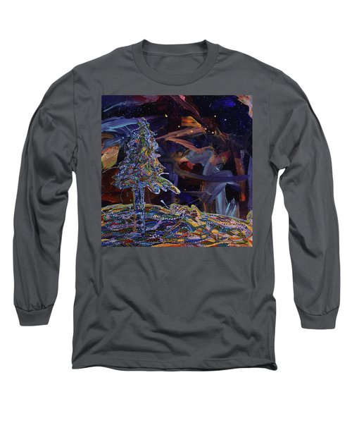 Ursa Minor Long Sleeve T-Shirt by Erika Pochybova