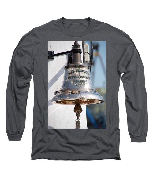 Us Frigate Bell Long Sleeve T-Shirt