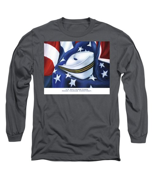 U.s. Navy Nurse Corps Long Sleeve T-Shirt