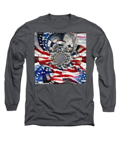 Usa Patriot Long Sleeve T-Shirt
