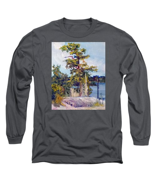 Long Sleeve T-Shirt featuring the painting Used To Be by Jim Phillips