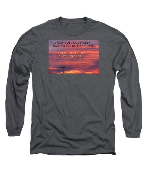 Useless Emotions Long Sleeve T-Shirt by David Norman