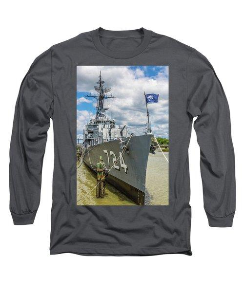 Uss Laffey Dd-724 Long Sleeve T-Shirt