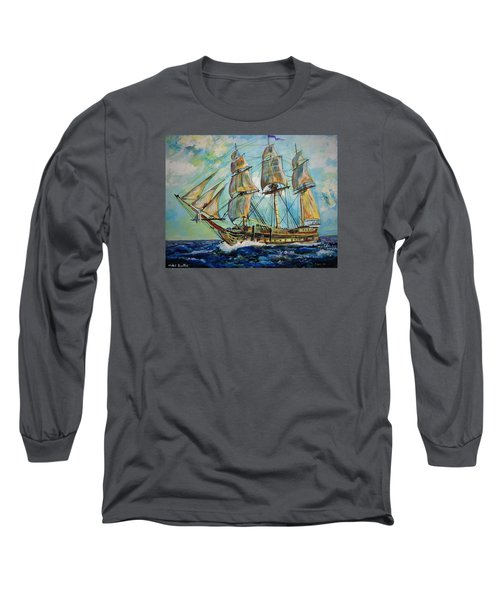 Uss United States Long Sleeve T-Shirt