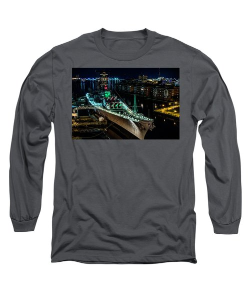 Uss Wisconsin Long Sleeve T-Shirt