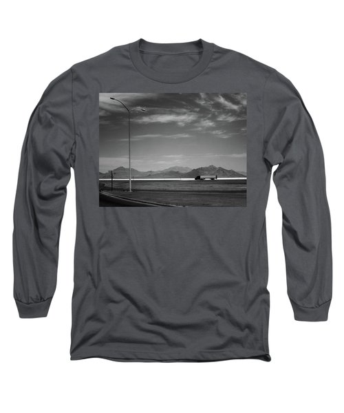 Utah Salt Flats Long Sleeve T-Shirt by Art Shimamura