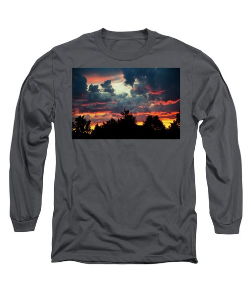 Utah Sunset Long Sleeve T-Shirt