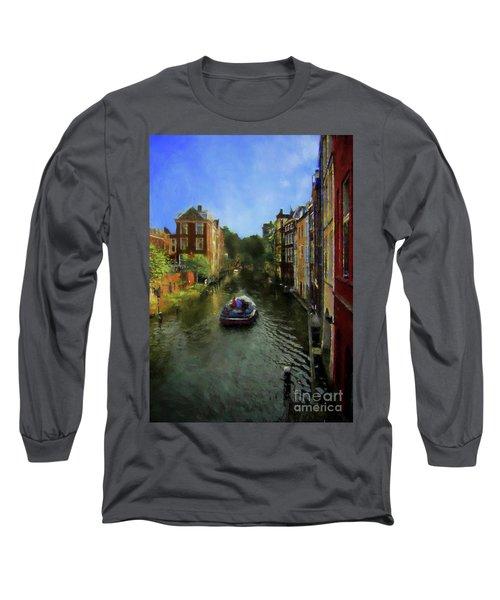 Utrecht, Holland Long Sleeve T-Shirt by John Kolenberg
