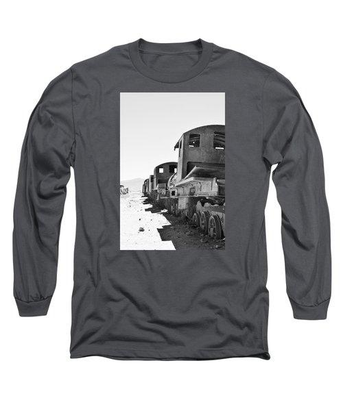 Uyuni Train Cemetery  Long Sleeve T-Shirt