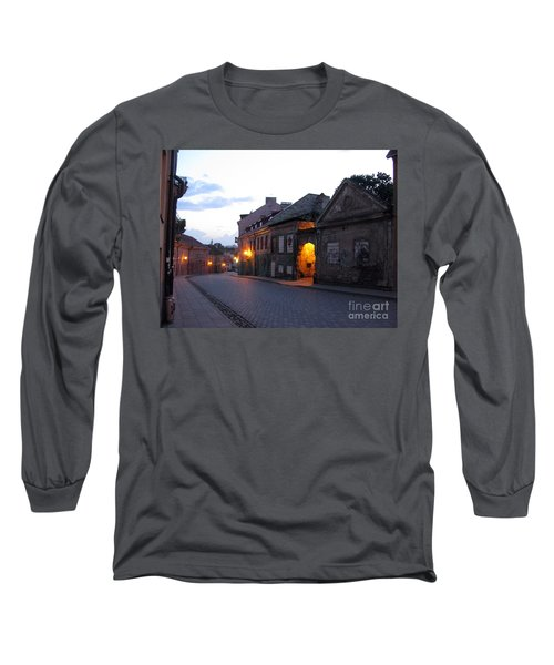Uzupis Street. Old Vilnius. Lithuania. Long Sleeve T-Shirt