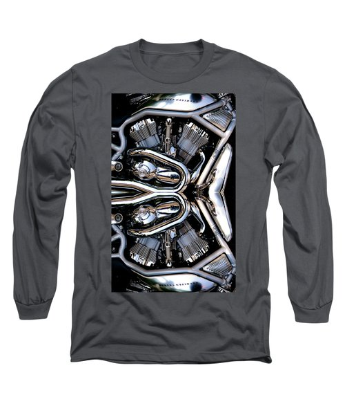 V-rod Reflected Long Sleeve T-Shirt