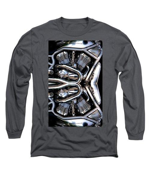 V-rod Reflected Long Sleeve T-Shirt