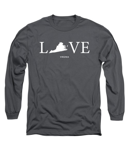 Va Love Long Sleeve T-Shirt by Nancy Ingersoll