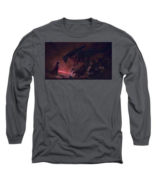 Vader Vs Aliens 4 Long Sleeve T-Shirt