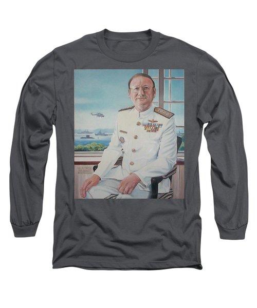Vadm Robert Claude Simpson-anderson Long Sleeve T-Shirt