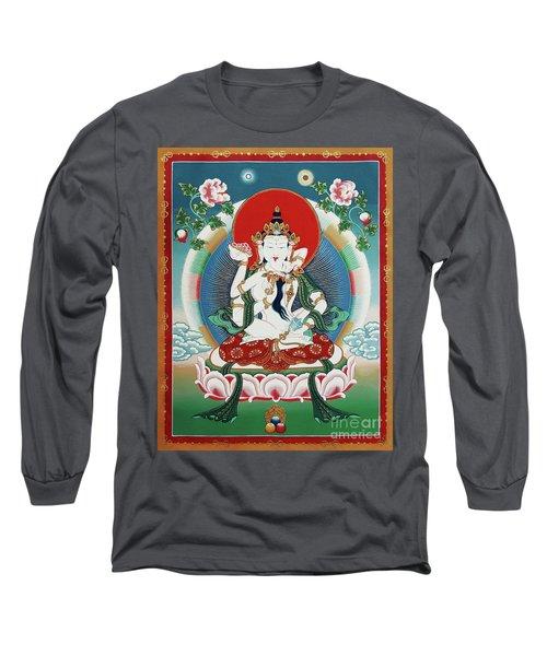 Vajrasattva Yuganadha  Long Sleeve T-Shirt