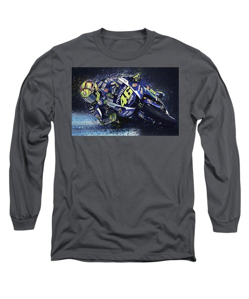 Valentino Rossi Long Sleeve T-Shirt