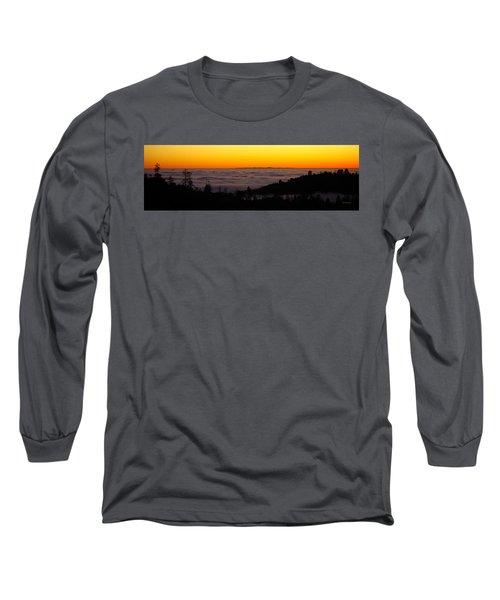 Valley Fog Twilight Long Sleeve T-Shirt