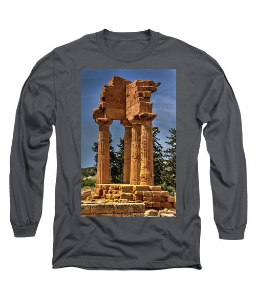 Valley Of The Temples I Long Sleeve T-Shirt by Patrick Boening