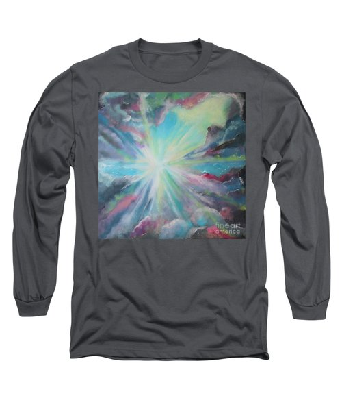 Long Sleeve T-Shirt featuring the painting Inspire by Stacey Zimmerman
