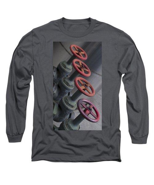 Valves Long Sleeve T-Shirt by Henri Irizarri