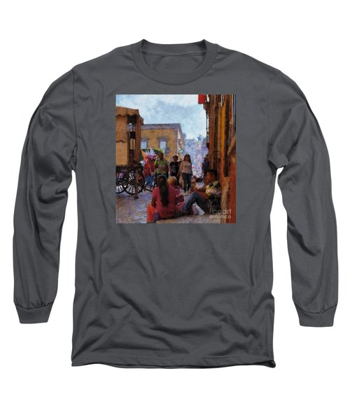 Van Gogh Visits Mexico Long Sleeve T-Shirt