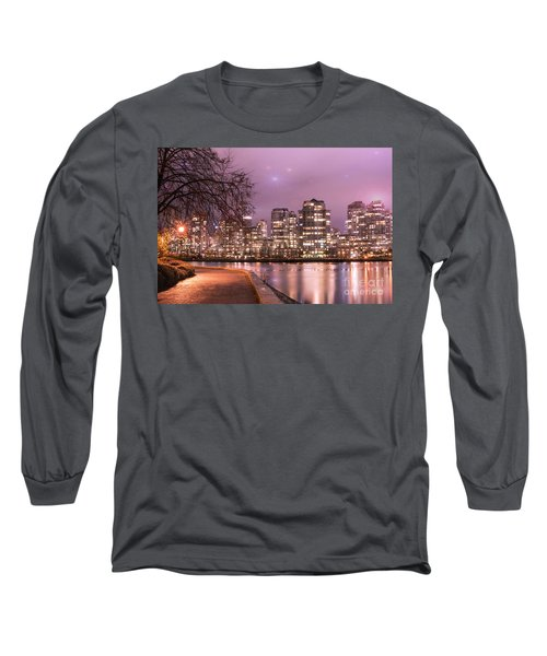 Long Sleeve T-Shirt featuring the photograph Vancouver, Canada by Juli Scalzi