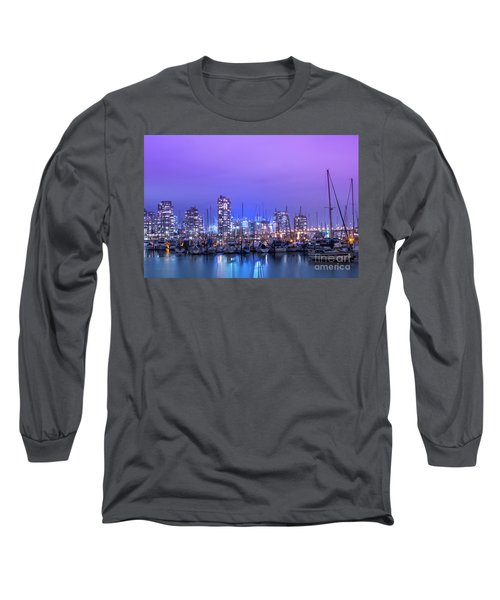Long Sleeve T-Shirt featuring the photograph Vancouver by Juli Scalzi