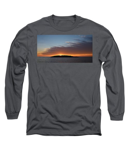 Long Sleeve T-Shirt featuring the photograph Variations Of Sunsets At Gulf Of Bothnia 1 by Jouko Lehto
