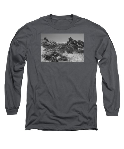 Vasquez Rocks Long Sleeve T-Shirt by Ivete Basso Photography