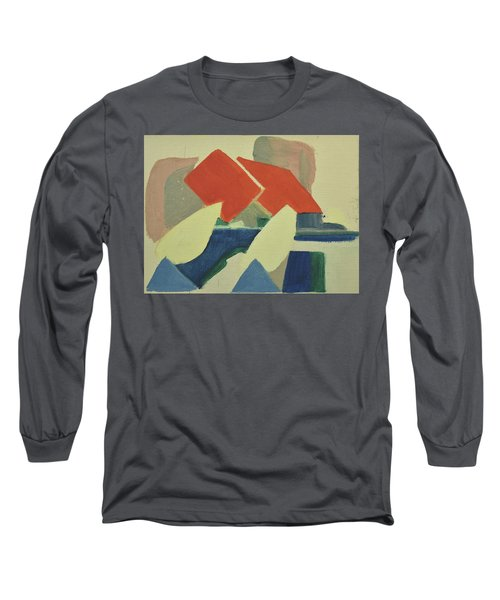 Vastkusten, West Coast,hamburgsund 1985_1249 Up To 120 X 90 Cm Long Sleeve T-Shirt