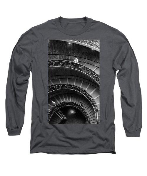 Vatican Stairs Long Sleeve T-Shirt