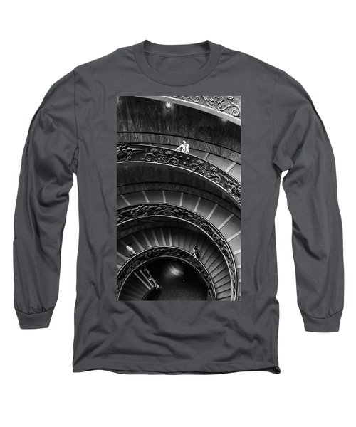 Vatican Stairs Long Sleeve T-Shirt