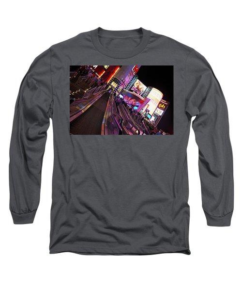 Vegas Nightlife Long Sleeve T-Shirt