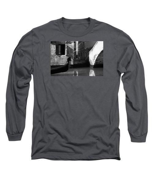Venetian Daily Life Long Sleeve T-Shirt by Yuri Santin