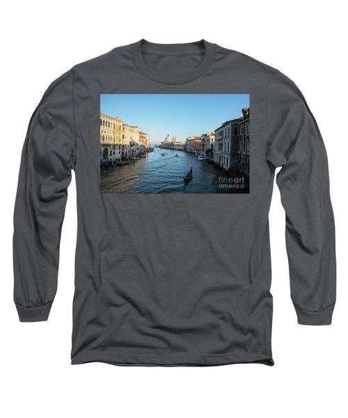Venetian View  Long Sleeve T-Shirt by Yuri Santin