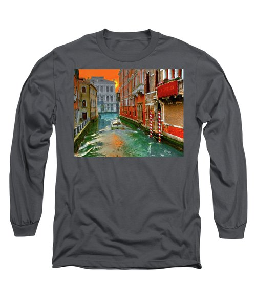 Venezia. Ca'gottardi Long Sleeve T-Shirt