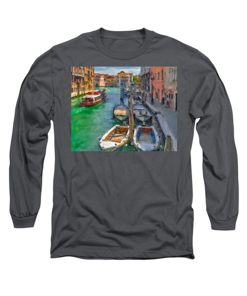 Venezia. Cannaregio Long Sleeve T-Shirt