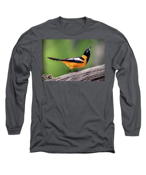 Venezuelan Troupial Long Sleeve T-Shirt