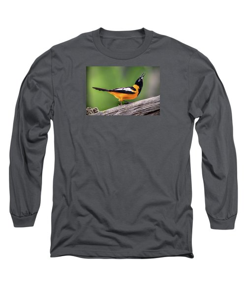 Venezuelan Troupial Long Sleeve T-Shirt