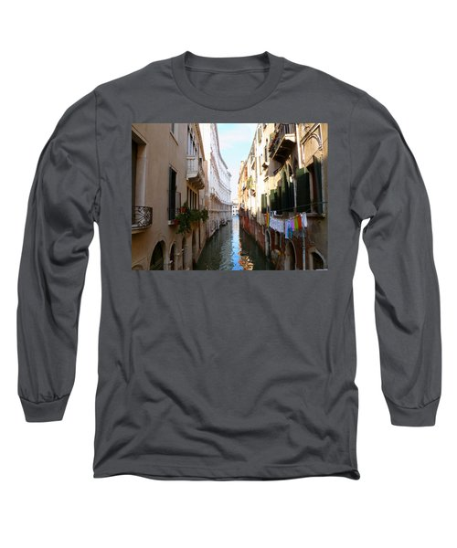 Venice Canal Long Sleeve T-Shirt