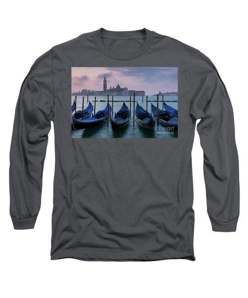 Long Sleeve T-Shirt featuring the photograph Venice Dawn IIi by Brian Jannsen