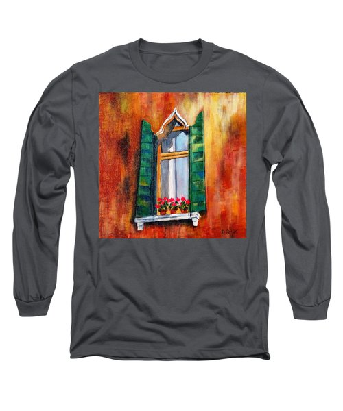 Venice Window Long Sleeve T-Shirt