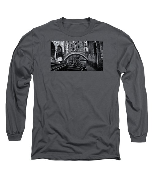 Long Sleeve T-Shirt featuring the photograph Venice Yesteryear by Andrew Soundarajan