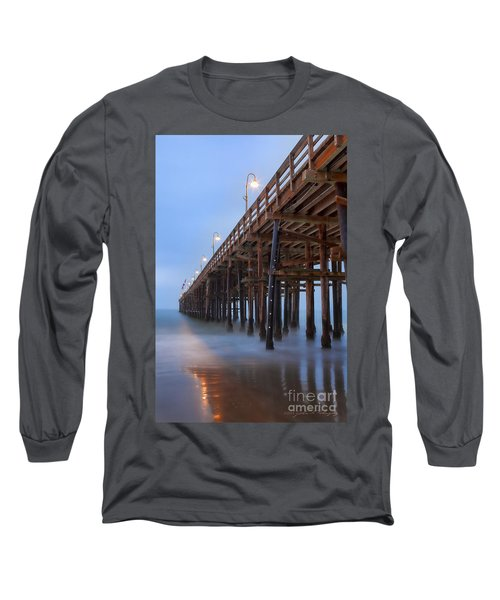 Ventura Ca Pier At Dawn Long Sleeve T-Shirt