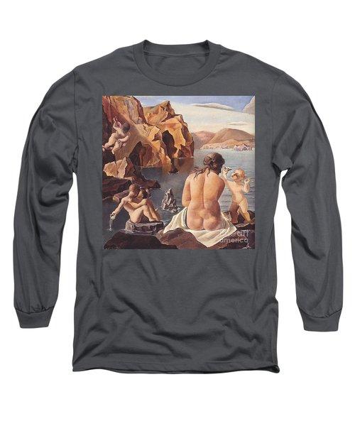 Venus With Cupid Long Sleeve T-Shirt
