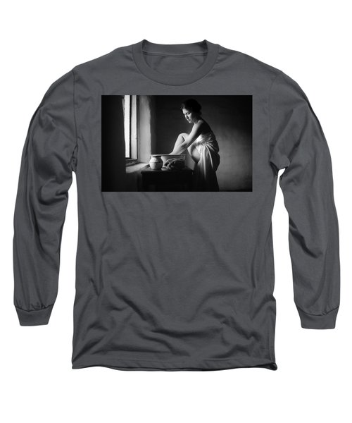 Vermeer Footwasher Long Sleeve T-Shirt